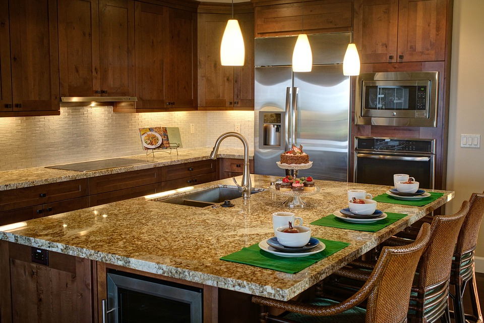 Quartz Countertops - Kitchen Counter