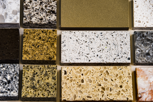 Quartz Countertops - Different Countertop Samples